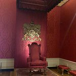 Canopied Throne