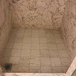 clogged bathroom