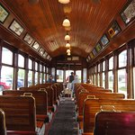 Restored Asoria trolley for extra fun!