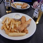 Fish, chips and beer!