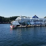 Dock in Swartz bay.