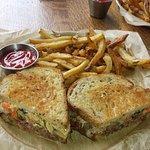 Reuben with Fries ($14)