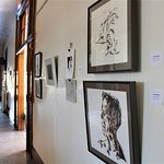 The Lobby Gallery at Town Square features local artwork every month.