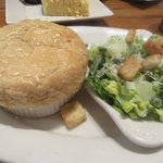 Mini Chicken Pie and Saladd, Marie Callender's, Sunnyvale, CA