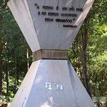 Monumento à Paz, no interior do Bosque dos Buritis, Goiânia, GO