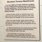 Description of a washouse, which a visitor to the museum described to me from his own youth.