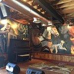 Firehouse BBQ - Interior stage