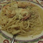 My tasty shrimp scampi