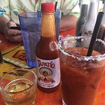 Yummy Bloody Mary with Beer Chaser