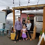 The Adorable Airstream Trailer that houses Bee's Cakes and Coffee