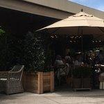 Restaurant outside seating