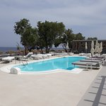 One of the pool that faces the beach front and restaurant