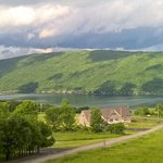 An awesome view of Canandaigua Lake in Finger Lakes