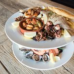 The amazing Seafood Platter at The Cove