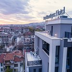 Stara Zagora from the sky! Enjoy this spectacular view above the hotel!