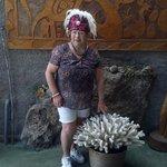 Visita jardín botánico Rapa Nui