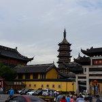 Entrance to Nanchan Temple and Pagoda