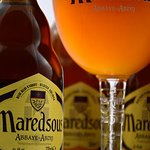One of our beers: Maredsous Blonde