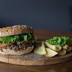 Hamburger con pane senza derivati animali. Solo da Weedoo