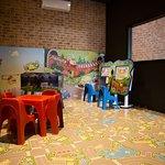 Sala bimbi da Weedoo. Giochi interattivi per i più piccoli