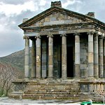 The temple of Garni!!!  it was built in 77 AD.