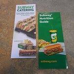 Subway, off I-76, Hudson, Colorado, truck stop.