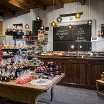 At Tallipihan Suklaapuoti you can find local chocolates,but also the best chocolates all over Eu