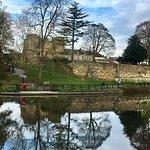 Tonbridge Castle on the Medway
