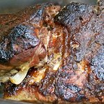 Pork ribs, oven baked with BBQ sauce - by special order