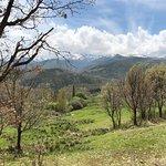 Espectaculares paisajes en el interior del parque Regional de Gredos.