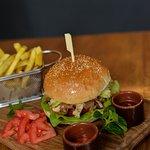 BurgerCraft Chicken sandwich