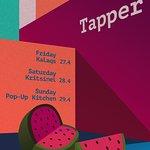 this week djs + PopUp kitchen