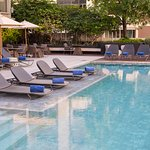 Relax at the swimming pool located on 9th Floor