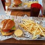 Burgers yum!