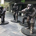 Raffles City Plaza entrance
