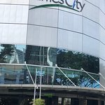 Raffles City Plaza across the street