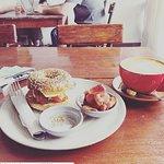 Our most popular breakfast item. The Breakfast Bagel!