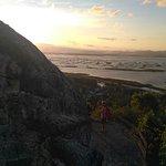 Danau Limboto dari tepian dinding Benteng Otanaha