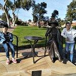 Kids enjoying the tour of Port Augusta