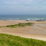 Tynemouth 'Long Sands' Beach, looking out to sea