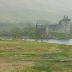 Misty view of Kilchurn