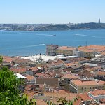 View over the city and River Tagus