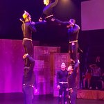 Sample of acrobatics