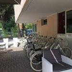 Biciclette a disposizione molto comode e nuovissime!!!