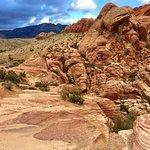 Stunning natural colours of Red Rock Canyon, Nevada