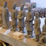 Miniature examples of Terracotta Warriors for sale