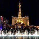 View from the Bellagio fountains