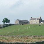 High Keenley Fell Farm approach