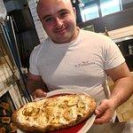 Pane pizza e fantasia fatta con amore.,!!!! In  aleggia.
