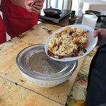 Cauliflower dish.
